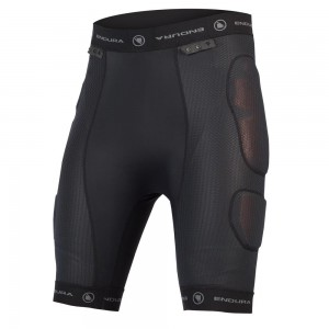 SZORTY ENDURA PROTECTOR II BLACK ROZ.XL