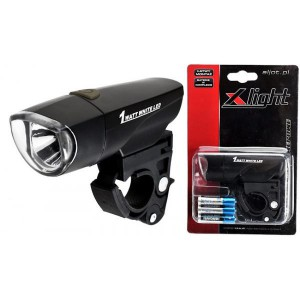 LAMPA PRZÓD X-LIGHT 1W XC-785