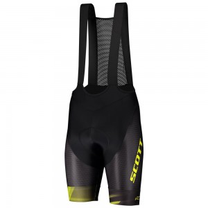 SPODENKI SCOTT RC PRO BIB BLK/YELLOW ROZ.L 2020