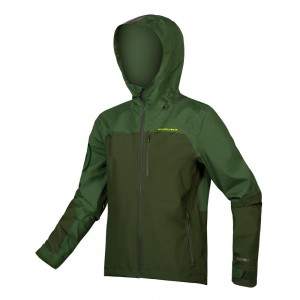 KURTKA ENDURA SINGLETRACK WATERPROOF GREEN ROZ.XL