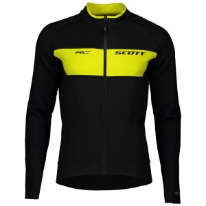KURTKA SCOTT RC WARM REVERSIBLE WB BLK/YELL ROZ.L