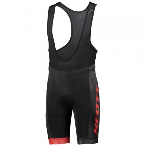 SPODENKI SCOTT BIB RC TEAM BLACK/RED ROZ.XXL 2018