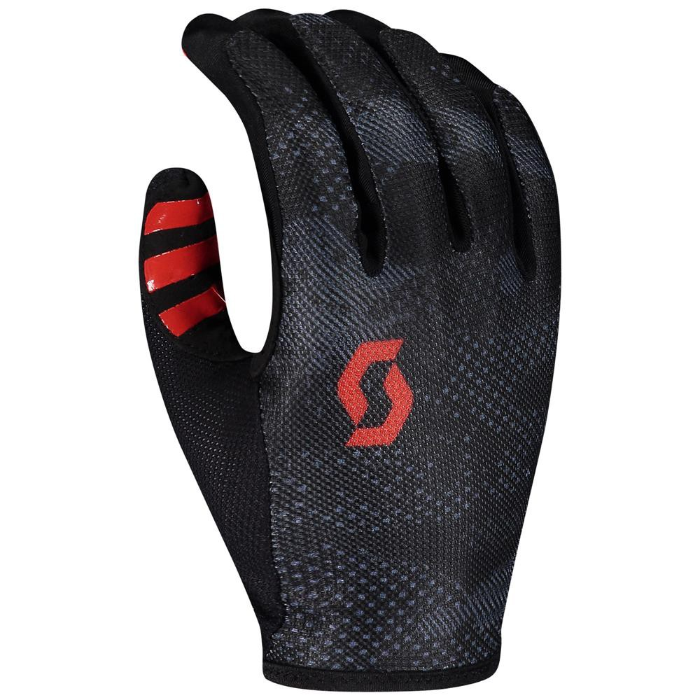 RĘKAWICZKI SCOTT TRACTION LF BLK/RED ROZ.XL 2020
