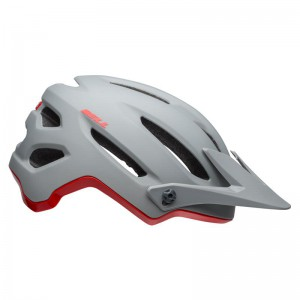 KASK BELL 4FORTY GREY CRIMSON ROZ.L 58-62CM