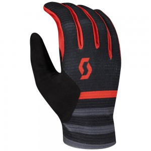 RĘKAWICZKI SCOTT RIDANCE BLACK/RED ROZ.M 2020