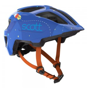 KASK SCOTT SPUNTO KID BLUE/ORANGE ROZ.46-50CM 2020