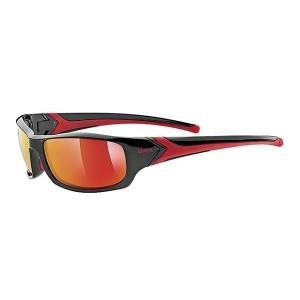 OKULARY UVEX SPORTSTYLE 211 BLACK/RED